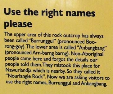 burrunggui-anbangbang-names